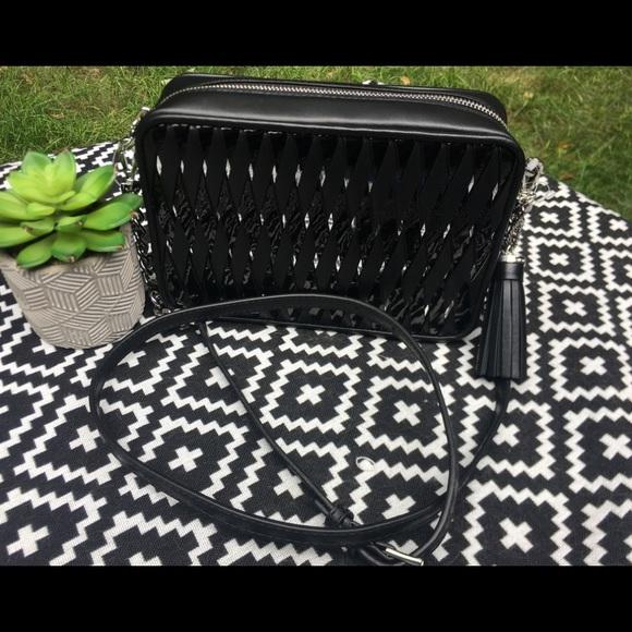 798714680 Michael Kors Bags | Ginny Woven Leather Md Camera Bag | Poshmark